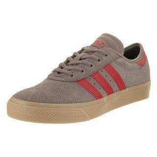Adidas Men's Adi-Ease Premiere Adv Brown Suede Skate Shoes