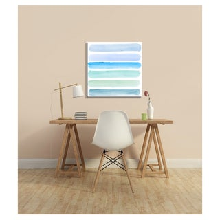 Benjamin Parker 'Pick Your Blue' Giclee Wall Art