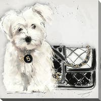 BY Jodi 'Coco pup' Giclee Stretched Canvas Wall Art