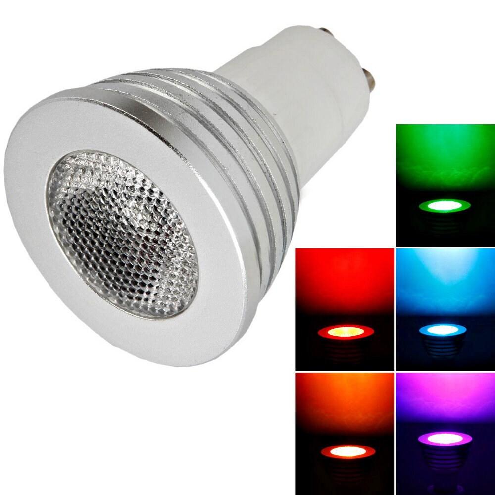 GU10 5W Remote Control Light Bulb (Pack of 4) (GU10 5W Re...