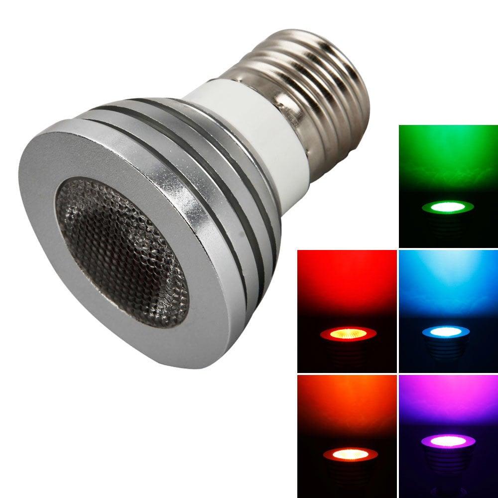 Remote Control 5W E27 LED Light Bulb (Pack of 2) (E27 5W ...