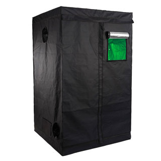 Black Home-use Hydroponic Plant Growing Tent with Window