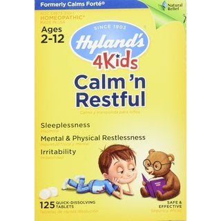 Hyland's Calm N' Restful 125-tablet Natural Medicine
