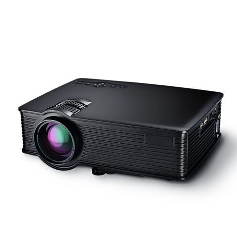 LCD Projector Mini Portable Multimedia Home Theater With USB SD HDMI VGA