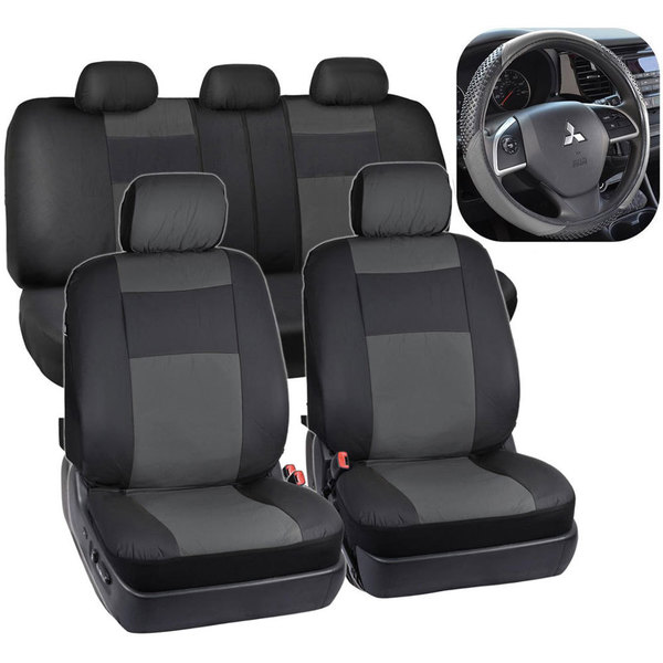 Four Seasons Auto >> Shop Universal Four Seasons Black Auto Pillow Seat Covers 13
