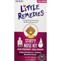 Little Remedies White Plastic Stuffy Nose Kit