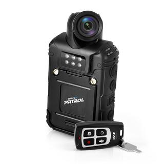 Pyle PPBCM28 Rugged & Water Resistant HD Body Camera, Compact & Wireless Security Surveillance Police Cam