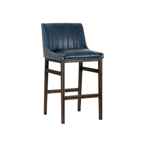 Shop Halden Rustic Bronze Vintage Armless 30 Bar Stool On Sale