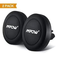Mpow Universal Air Vent Magnetic Car Mount Holder for iPhone6s/6/6s Plus/6 Plus/ Galaxy S7 (2 Pack)