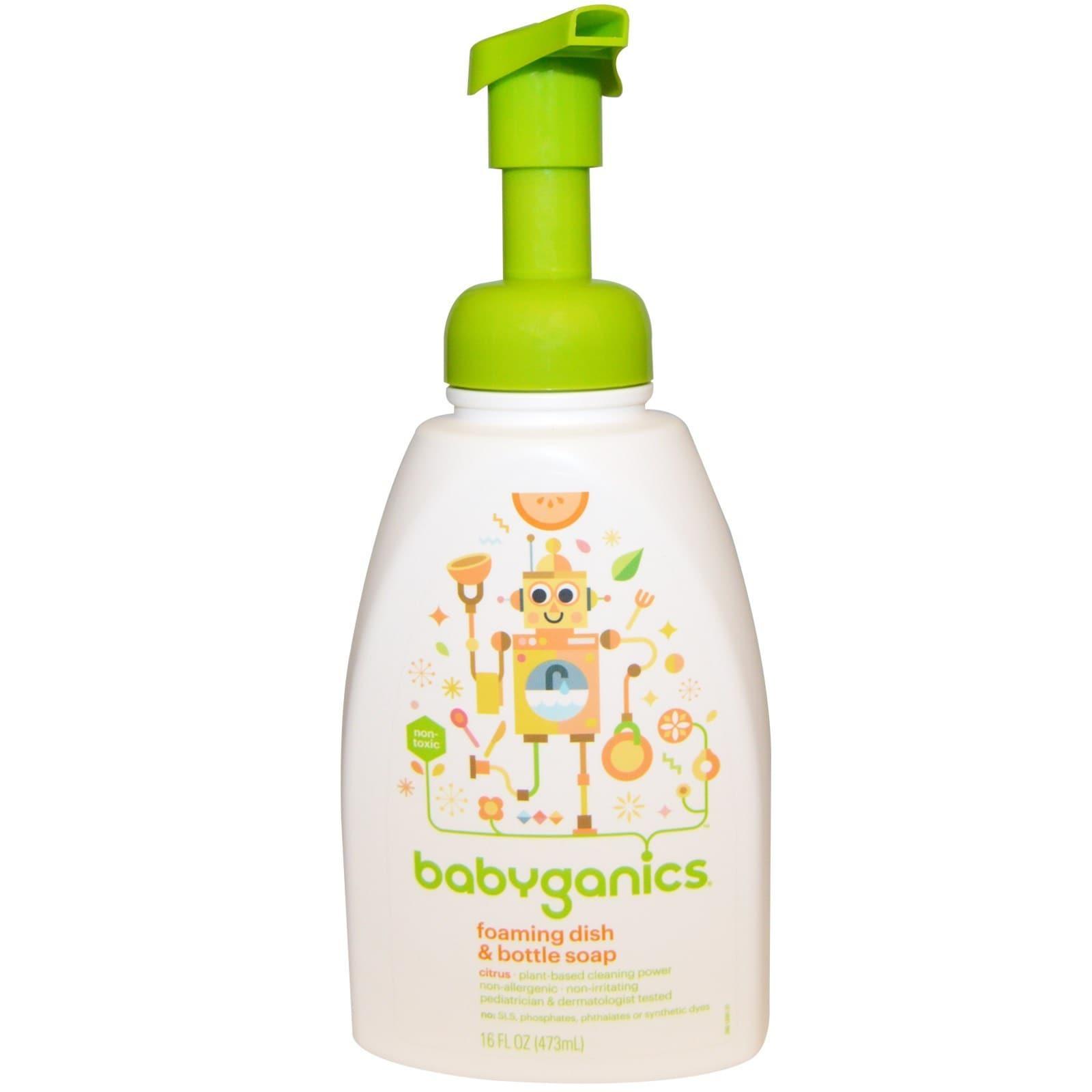 BabyGanics Citrus 16-ounce Foaming Dish and Bottle Soap (...