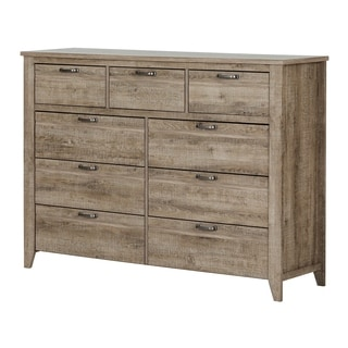 Genial South Shore Lionel 9 Drawer Double Dresser
