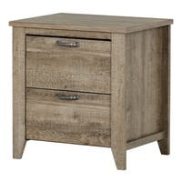 South Shore Lionel 2-Drawer Nightstand