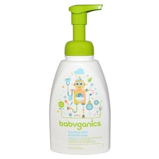Babyganics Fragrance-free 16-ounce Foaming Dish and Bottle Soap