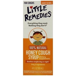 Little Remedies 4-ounce Honey Cough Syrup
