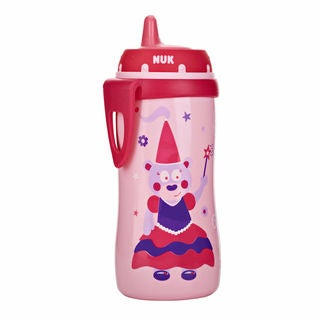 NUK Pink Silicone 10-ounce Hard Spout Active Cup