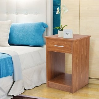 Adeco Square Accent End side Table Nightstand