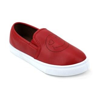 OM Girls' Jubilee Emoji Sneakers