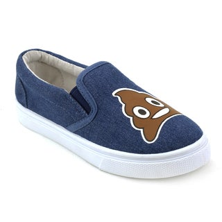 OMGirl Poo Blue Sneakers