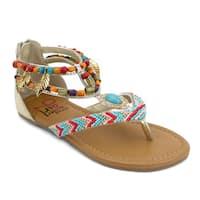 OMGirl Cheyenne Multicolored Sandals