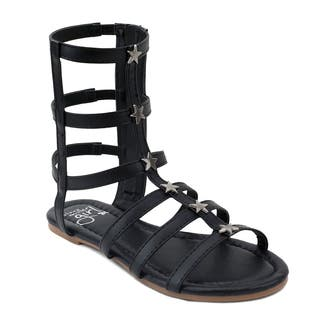 OMGirl Girls' Athena Tall Gladiator Sandals|https://ak1.ostkcdn.com/images/products/14781978/P21303525.jpg?impolicy=medium