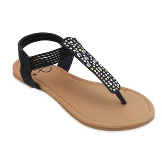 OM Girl's Devon Studded Sandals|https://ak1.ostkcdn.com/images/products/14782035/P21303536.jpg?impolicy=medium