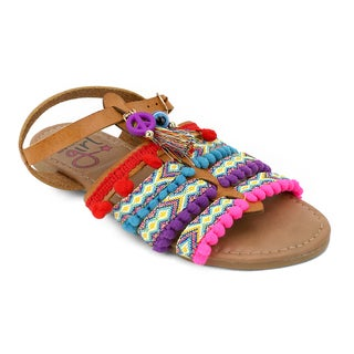 OMGirl Girls' Anja Boho Sandals