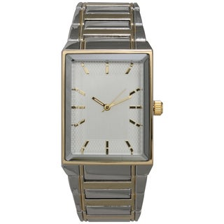 Olivia Pratt Men's Classic and Simple Rectangular Bracelet Watch One Size