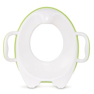 Munchkin Green and White Plastic Sturdy Potty Seat