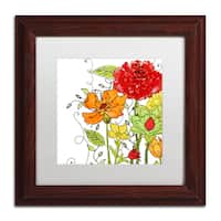 Color Bakery 'Aria II' Matted Framed Art - Multi