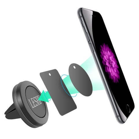 Car Magnetic Air Vent Mount Holder for Cell Phone