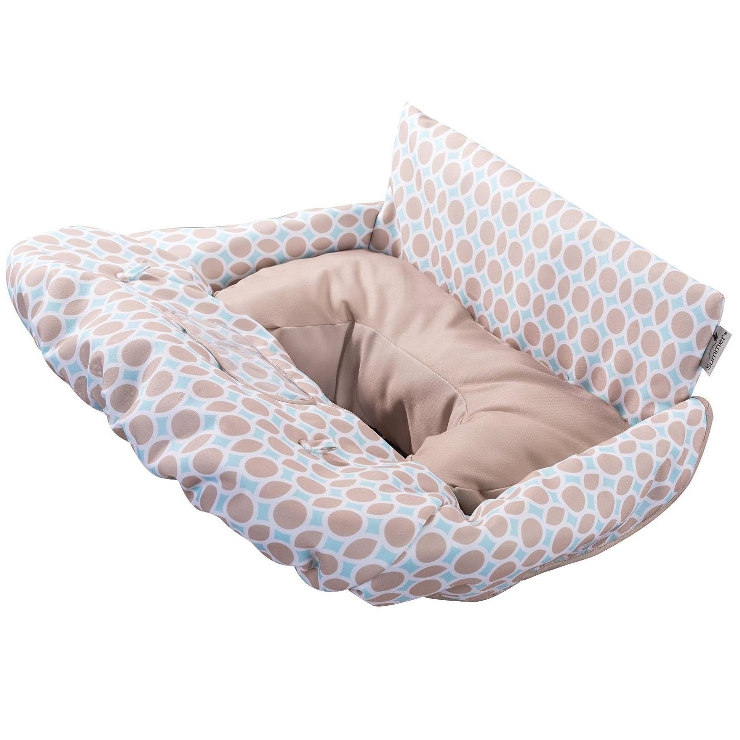 Summer Infant Products Dots and Diamonds Cushy Cart Cover...