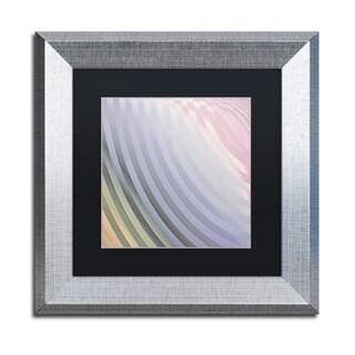 Color Bakery 'Satin VI' Matted Framed Art