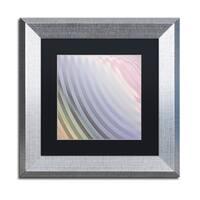 Color Bakery 'Satin VI' Matted Framed Art - Grey