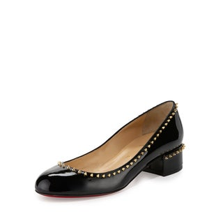 Christian Louboutin Treliliane 30 Patent Spike Shoes