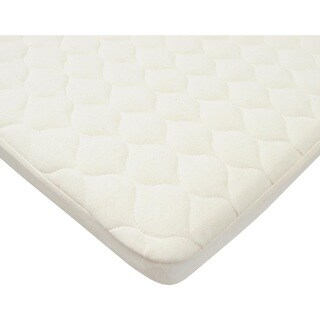 American Baby Company Natural Cotton Waterproof Bassinet Mattress Pad Cover