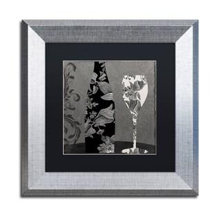 Color Bakery 'Vin Elegant II' Matted Framed Art