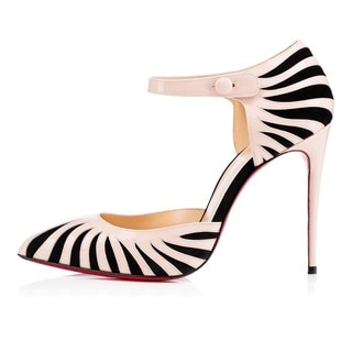 Christian Louboutin Last Empress 100 Striped Shoes