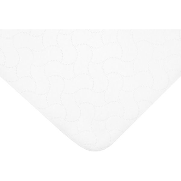 American Baby Company White Waterproof Flat Multi-Use Protective Pad Cover