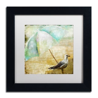 Color Bakery 'By the Sea IV' Matted Framed Art