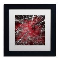 Philippe Sainte-Laudy 'Fear' Matted Framed Art - Red