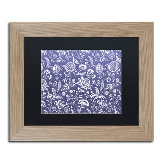 Color Bakery 'Toile Fabrics X' Matted Framed Art