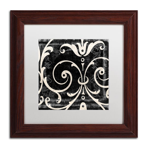 Color Bakery 'Stylesque II' Matted Framed Art - Red