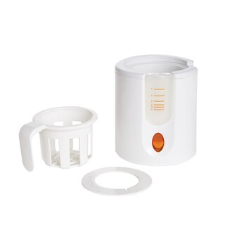 Munchkin White Plastic Speed Bottle Warmer