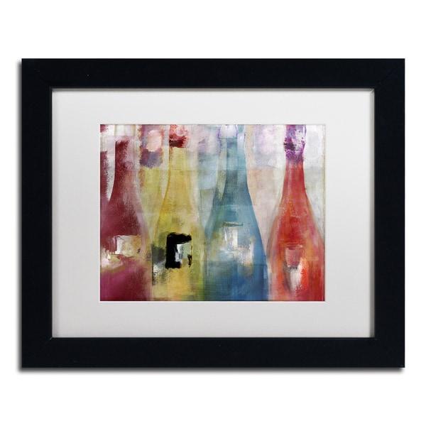 Color Bakery 'Bouteilles II' Matted Framed Art