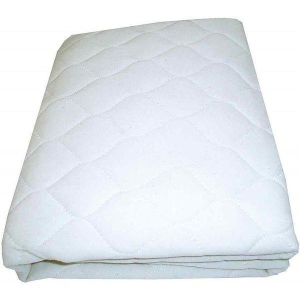 Shop American Baby Company White Waterproof Quilted Crib