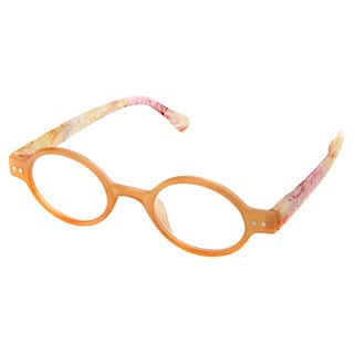a363a5cd5dc Hot Optix Ladies Plastic and Acrylic Oval Reading Glasses