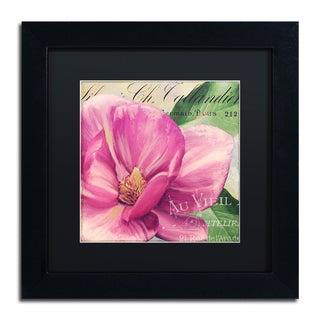Color Bakery 'Pink Magnolia II' Matted Framed Art