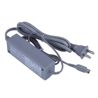 Wall Charger Adapter for Nintendo Wii U Gamepad Grey