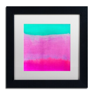 Color Bakery 'Gradients IV' Matted Framed Art