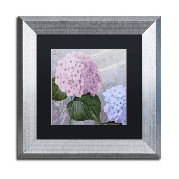 Shop Color Bakery Hortensia 2 Matted Framed Art Free Shipping - Color-hortensia